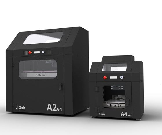 Plural Additive Manufacturing's A2V4 and A4V4 3D printers