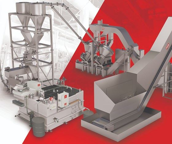 graphic depicting Prab's chip-processing and coolant-treatment systems