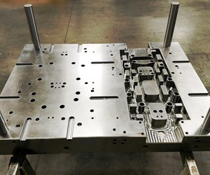A-side mounting plate for mold inserts from Dramco Tool