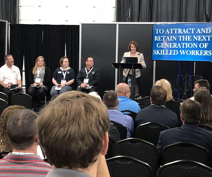 AMBA workforce development discussion at Amerimold 2018