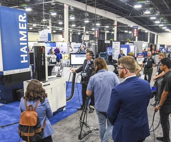 Haimer demo at Amerimold 2018