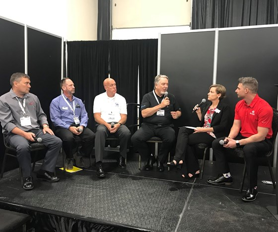 Leadtime Leader panel discussion at Amerimold 2018