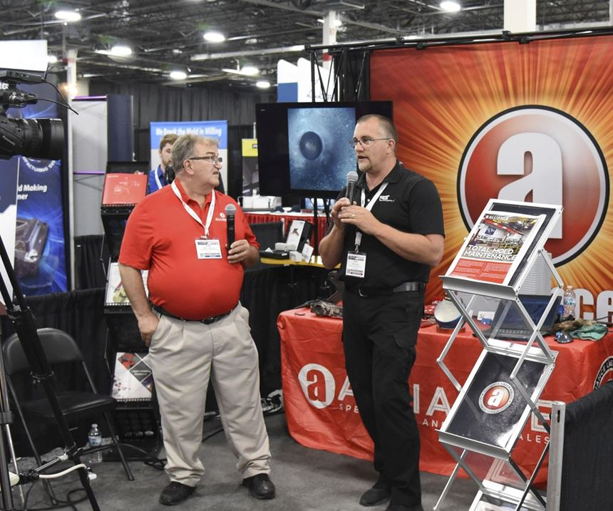 Alliance Specialties and Laser Sales at Amerimold 2018