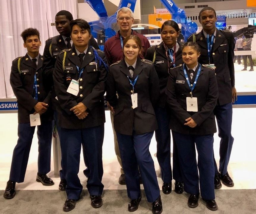 students at IMTS