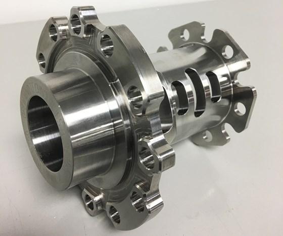 turn mill part