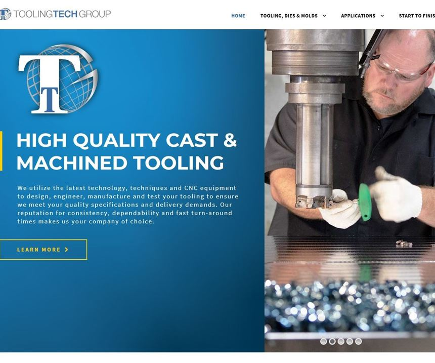 Tooling Tech Group home page