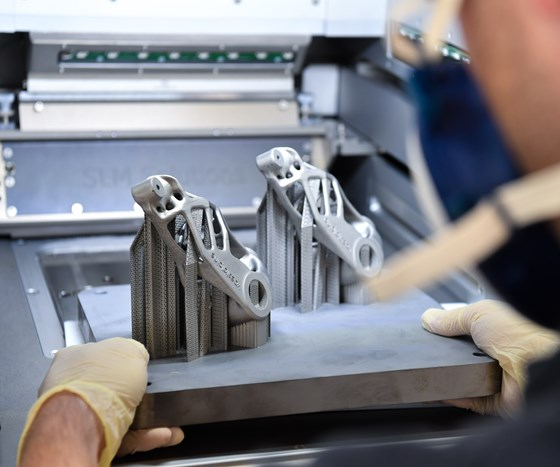 additive manufactured product