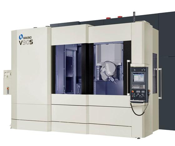 Makino's V90S vertical machining center