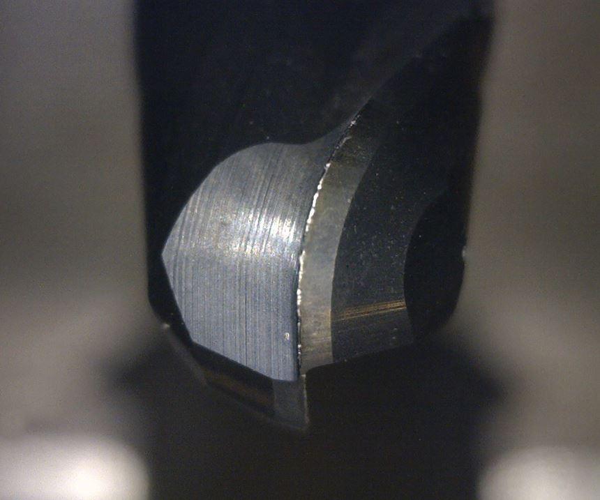 coated cutting tool tip