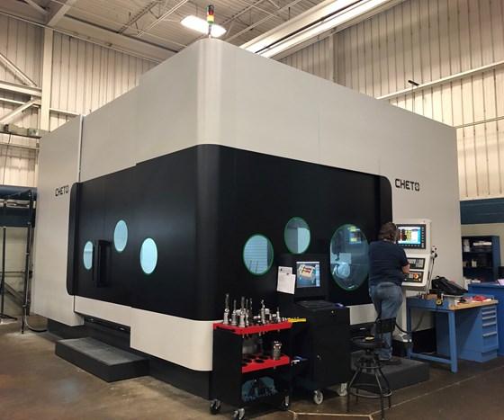 Cheto IX2000 deep-hole drilling and milling CNC machine