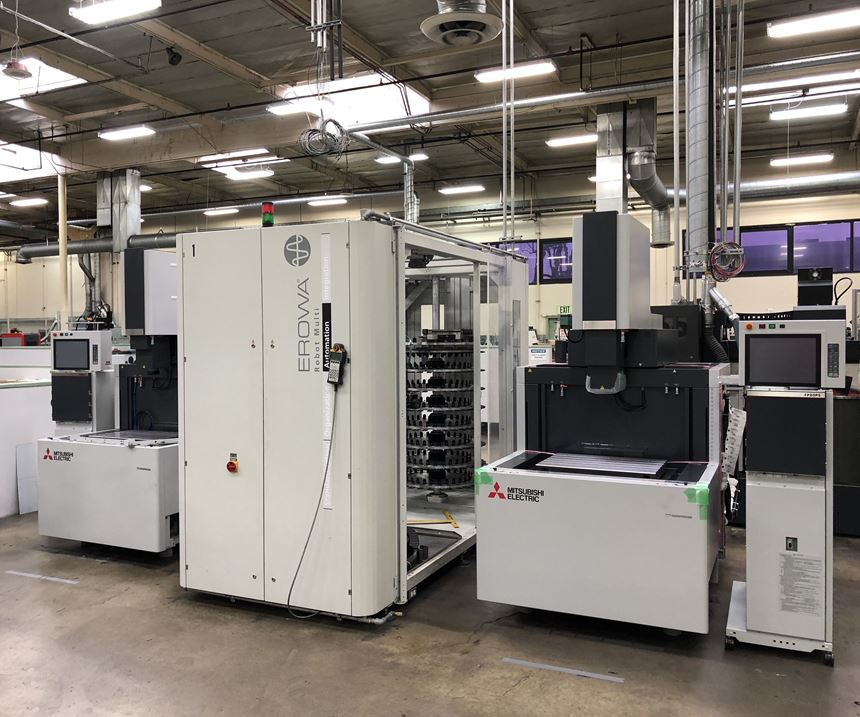 New EDM cell at Fairway Injection Molds