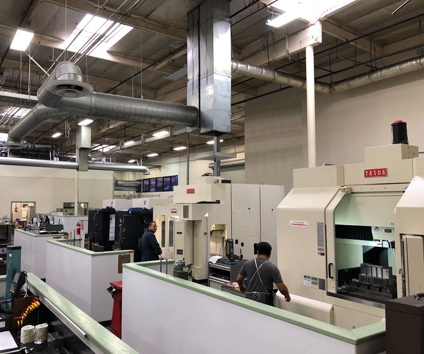Yasda hard-milling CNC machines at Fairway Injection Molds