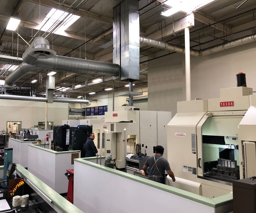 Yasda hard-milling CNC machines at Fairway Injection Molds
