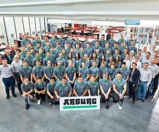 Arburg students
