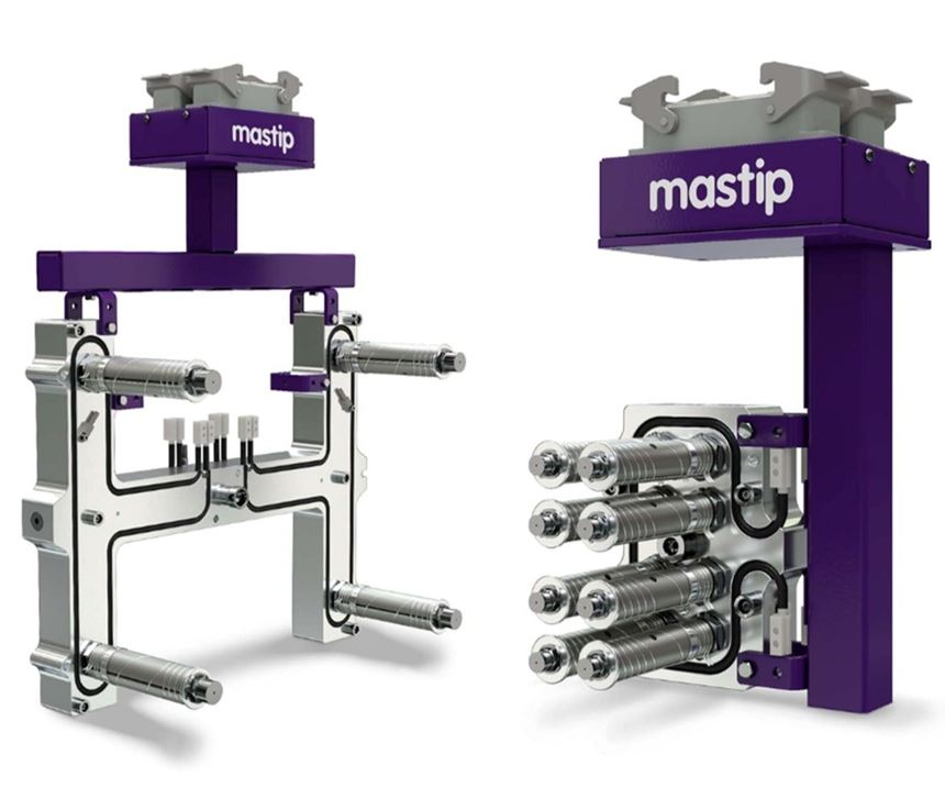 Mastip Nexus pre-assembled, pre-wired hot runner system