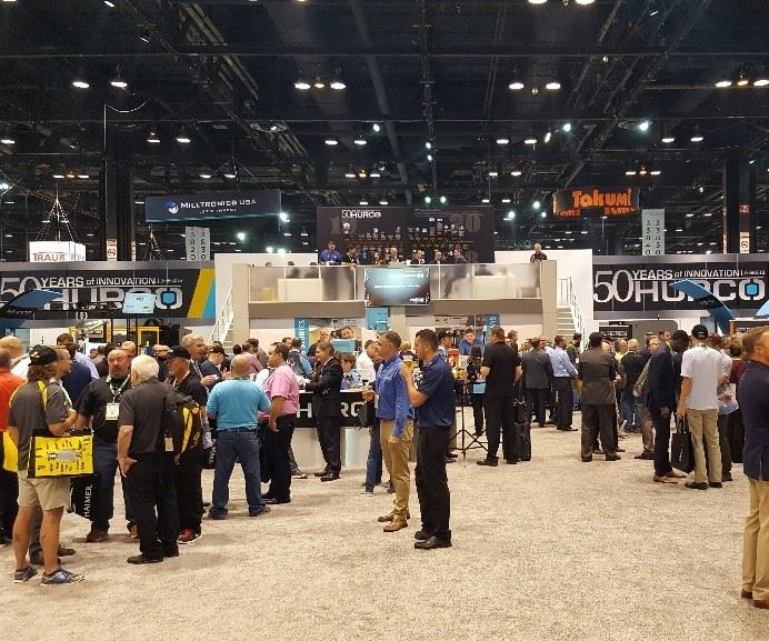 Hurco booth space