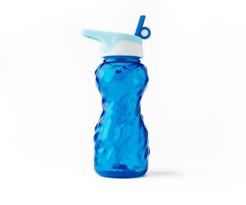 vivid color water bottle