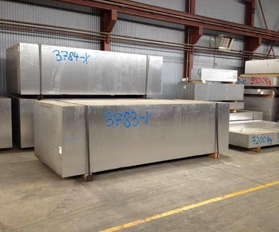 Ellwood Specialty Steel aluminum in warehouse