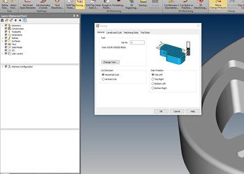 Vero Software Alphacam 2018 R2 screenshot