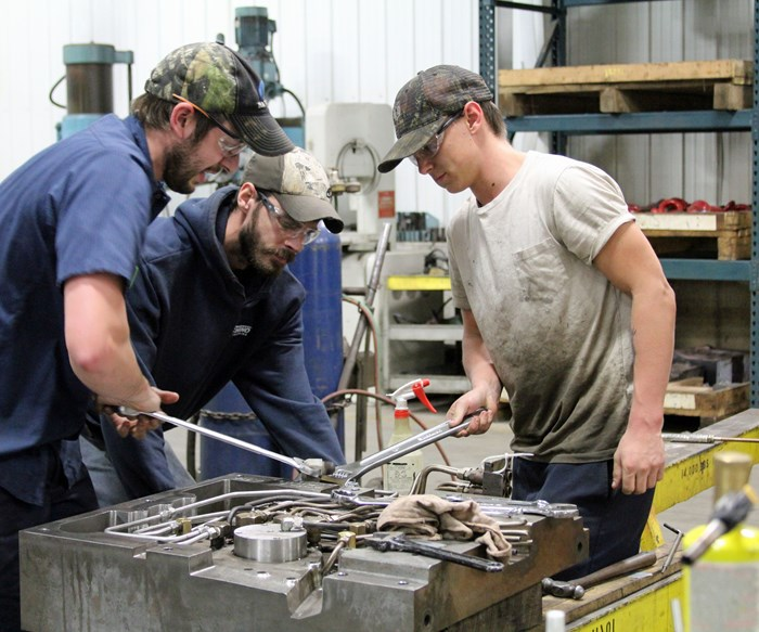 Apprentices at Franchino Mold and Engineering