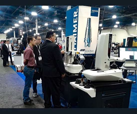 Haimer demonstration at Amerimold 2018