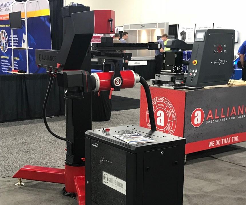 ID1-Fiber Laser Welding System machine fromAlliance Laser Sales