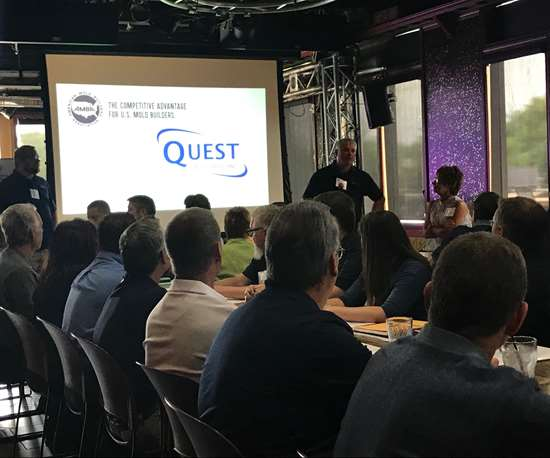 AMBA-sponsored plant tour with Quest Industries at Amerimold 2018
