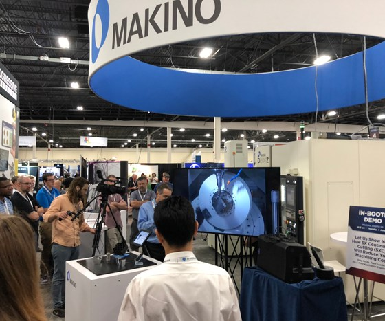 Makino demo at Amerimold 2018