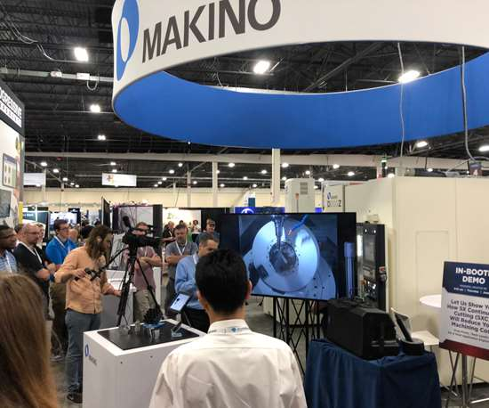 Makino demo at Amerimold 2018