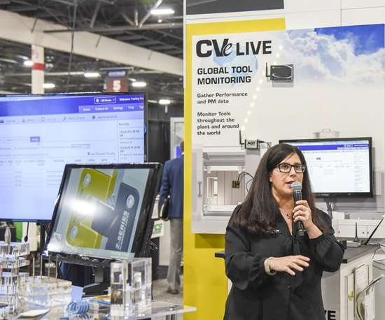 Lorena Fisher of Progressive Components at Amerimold 2018