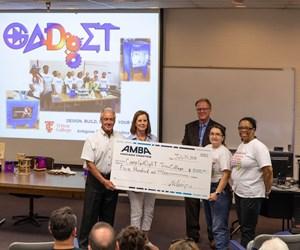 AMBA Chicago presents big check to GADgET program