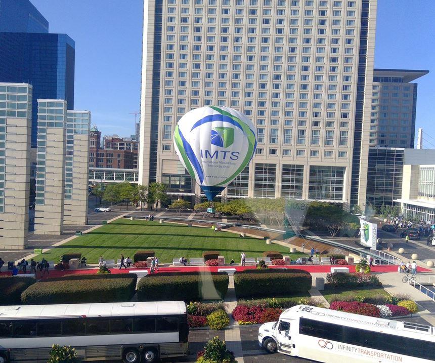 IMTS 2018 balloon in Chicago, Illinois
