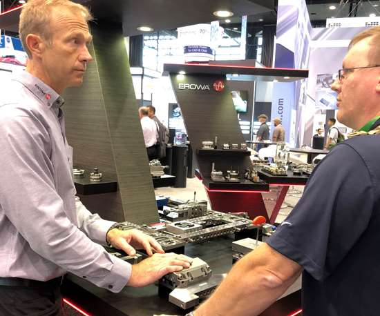 Erowa at IMTS2018