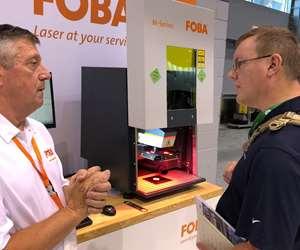Foba booth at IMTS 2018