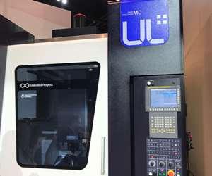 Machine center with control unit