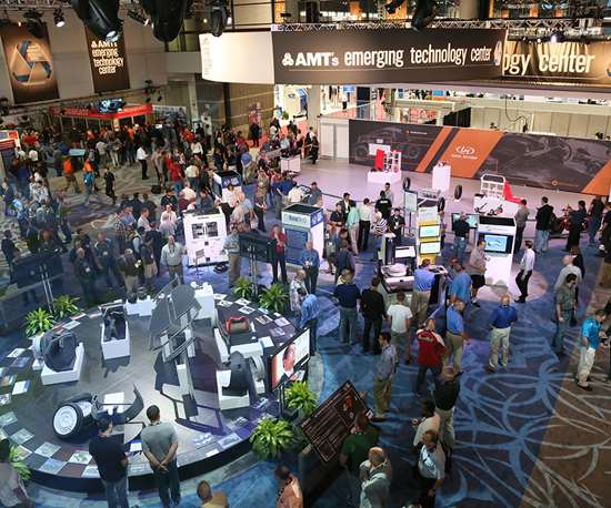 AMT's Emerging Technology Center focuses on digitalization at IMTS 2018