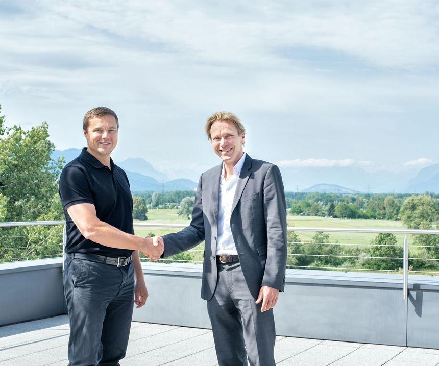 Meusburger and Segoni shake hands on partnership