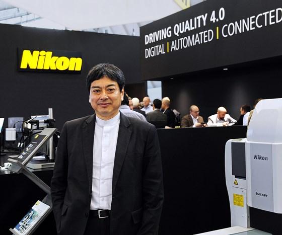 Nikon Corporate Vice President Tadashi Nakayama