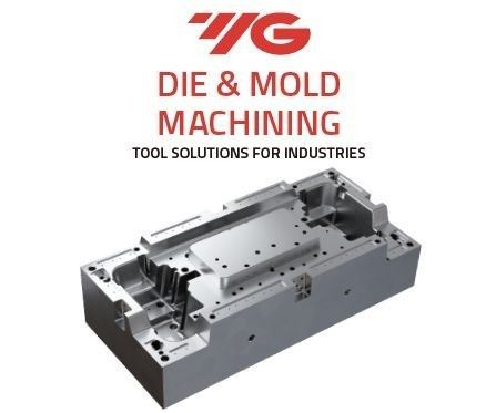 the cover of die and mold brochure