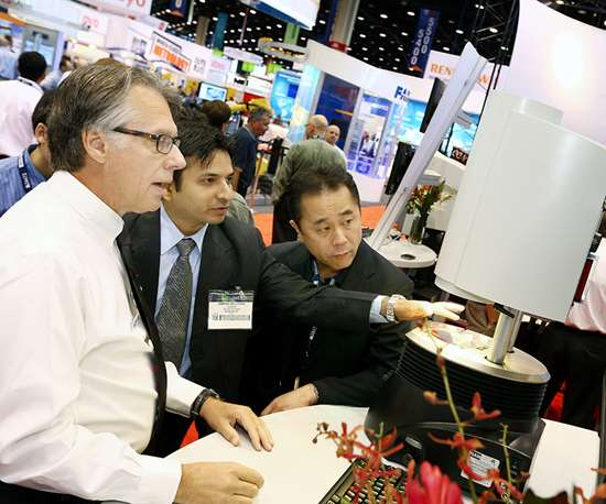 Live demos on the show floor give you an exclusive look at current and emerging technology and how it's being used.