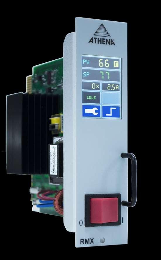 Athena Control's new Series RMX Modular Hot Runner Controller.