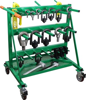 New Hoist Ring Rack from IMS Company: Industrial Molding Supplies