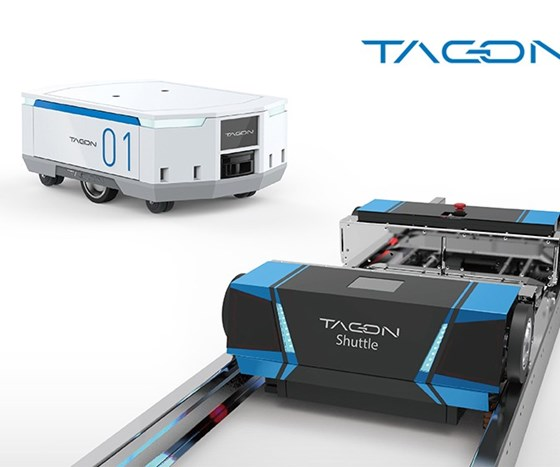 Tagon AGV system from Yudo Inc.