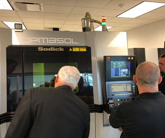 Sodicks new OPM350L 3D Metal Printer