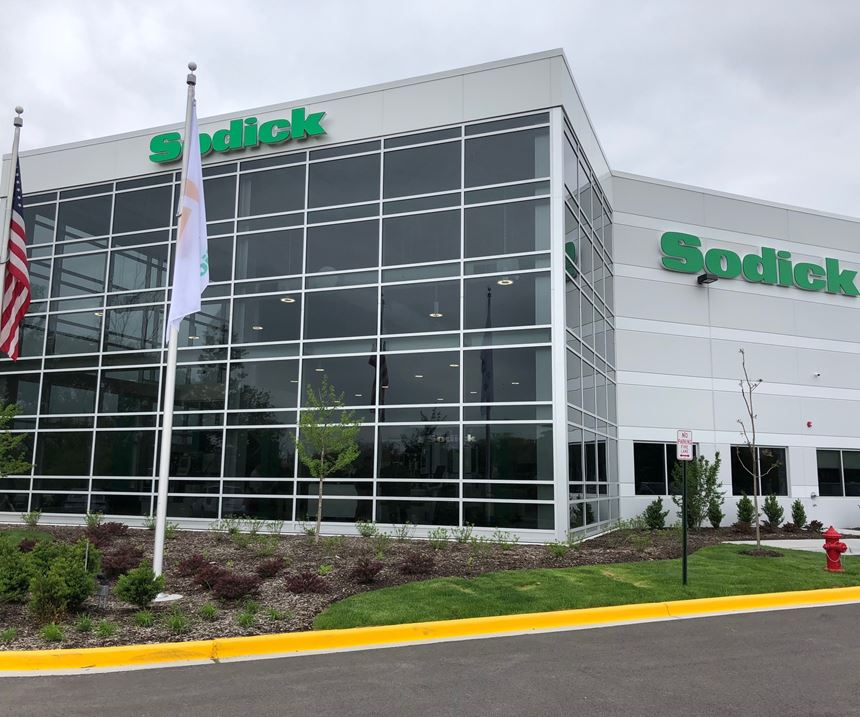 Exterior shot of Sodick's new North American headquarters