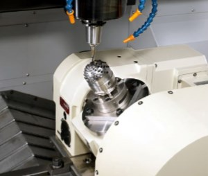 2-axis tilt-rotary table for vertical machining centers