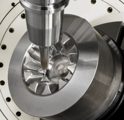 5-axis machining of molds