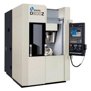 Makino's D200Z 5-axis machining center