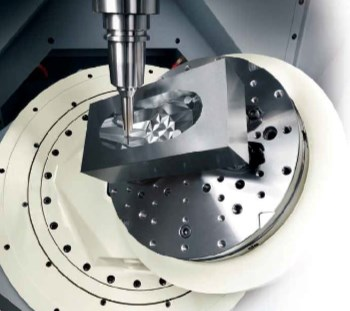 5-axis machining center for dies and molds