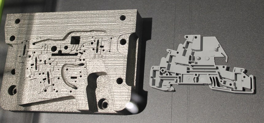 Injection Mold made via Laser Metal Fusion by Phoenix Contact